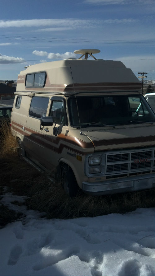 Adoption Day - Jenny, my 1984 GMC Camper Van