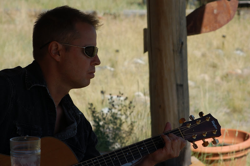 Playing for Jessie  in Paradise Valley Montana