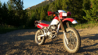 Hahnna - Our 1983 Honda XL 250R